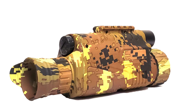 Night Vision INFRARED Monocular Color: Autumn Camouflage Yellow/Brown bartonshaw
