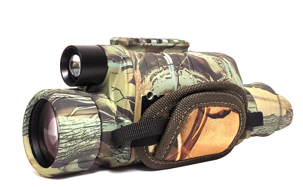Night Vision INFRARED Monocular Color: Forest Camouflage Green/Black